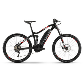 HAIBIKE SDURO FullSeven LT 2.0, black/white/red